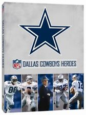 DALLAS COWBOYS HEROES New Sealed 2 DVD set