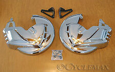 GOLDWING GL1800 CHROME-PLATED ROTOR COVERS (7450)