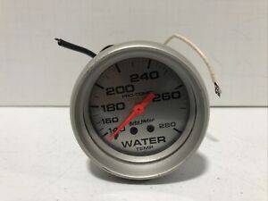 AutoMeter 4431 Ultra-Lite Mechanical Water Temperature Gauge Pre-Owned