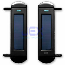 Add On Set Multi Beam IR Sensor Solar Powered Wireless Perimeter Security Alarm