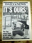 Best 1994 newspaper NEW YORK RANGERS win Ice Hockey NHL Championship STANLEY CUP