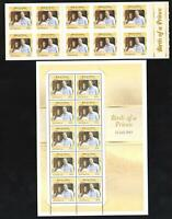 PRINCE GEORGE BIRTH of a PRINCE STAMP SHEETLET & ADHESIVE BOOKLET - BOTH MINT