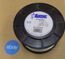 Ande Clear Mono Fishing Line Premium 8#-12# (Select One) Germany Unused