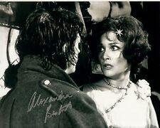 ALEXANDRA BASTEDO hand-signed THE GHOUL 8x10 uacc rd coa JOHN HURT CLOSEUP SCENE