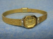 "Women's Petite ARMITRON ""Deauville"" Gold Watch w/ New Battery"