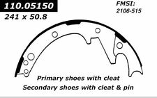 BRAND NEW FDP 515 REAR DRUM BRAKE SHOE SET FITS VEHICLES ON CHART