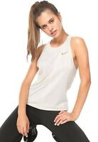 Nike  Breathe Miler Women's Running Tank striped beige medium 407