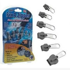 6 Pcs/lot Universal Zipper Fix Magic Quickly Instant Fixes Any Zipper