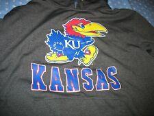 Kansas University JAYHAWKS Pullover Hoodie GREAT LOGO ~ Size SMALL! Long sleeve