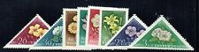 Hungary 1958 Flowers set unmounted mint