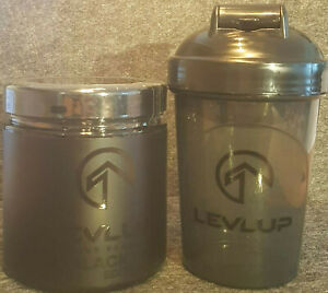 Levlup Gaming  Booster Black Edition mit Shaker