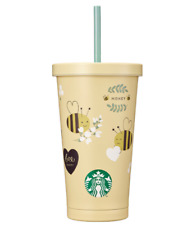 Starbucks Korea 2021 SS Honey Love Cold cup 532ml / 18oz Valentine's day Edition