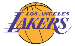 Los Angeles Lakers Vinyl Decal / Sticker 10 Sizes!! with TRACKING!!