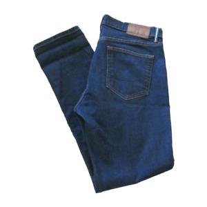 Tommy Hilfiger Mens Jeans Sz 34x32 Slim Straight Leg Dark Wash Denim Pants