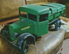 Renault CIJ Tipper Truck 1/10 Les Jouets Camion Tin Toy RARE