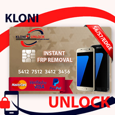 instant 24/7 Remote Google Account Removal FRP  SAMSUNG S6/S6 EDGE S7/S7 EDGE