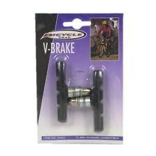2pc Bicycle V Brake Shoes / Rim Brake Pads - 70mm, Shimano Compatible - 1 Pair