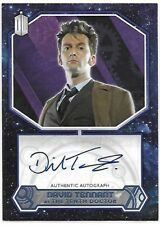 Doctor Who Topps 2015 Autograph Card 20/25 David Tennant Tenth Doctor Auto