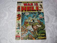 WAR IS HELL  NO.1 JAN 1970'S MARVEL COMIC      T*