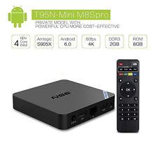 T95N Mini M8S IPTV S905X Quad Core Android 6.0 Smart TV Box 2G 8G Media Player