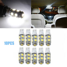 10pcs T10 9-SMD 5050 LED Side Wedge Car W5W 2825 158 192 168 License Plate Light