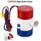 Electric Marine Submersible Bilge Sump Water Pump for Boat Yacht photo