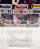 "25 Box Protectors For FUNKO POP 4"" VINYL FIGURES   Crystal Clear Display Cases"