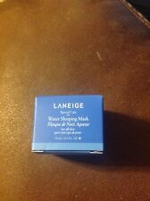 "LANEIGE ""WATER SLEEPING"" MASK .3 fl oz / Deluxe Sample NEW with original box"
