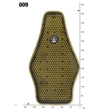Forcefield Pro Back Insert Level 2 Motorcycle Armour Protector 009