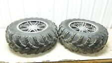 15 Polaris Sportsman 850 HO EFI SP ATV rear back wheels rims and tires