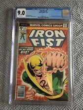 IRON FIST #8 by Marvel Comics CGC 9.0 (1976) 1st CAMEO App. of CHAKA