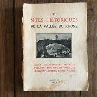 Imbert Saltar Las Monumentos Históricos de La Vallée Rhone Avignon 1928