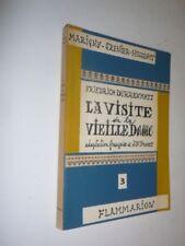 FRIEDRICH DURRENMATT - VISITE DE LA VIEILLE DAME - FLAMMARION 1957 EO - PORRET