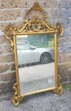 Specchiera '900 in legno dorato stile Luigi VXI