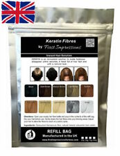 100% Natural Keratin Hair Building Fiber Refill For Hair Loss & Balding