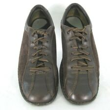 Born Shoes Sz 9.5 M / W Brown Leather Suede Oxford Lace Up Fashion Sneaker Women