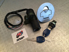 APRILIA RS50 IGNITION SWITCH SEAT LOCK PETROL CAP LOCK SET WITH KEYS