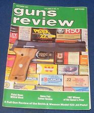 GUNS REVIEW MAGAZINE OCTOBER 1987 - THE SMITH & WESSON MODEL 422