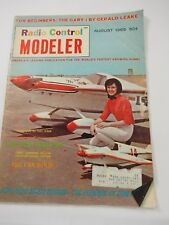 Radio Controled Modeler Magazine The Phoenix by Don Lowe August.1965