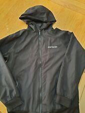 Boys, Carbrini black light weight zip up jacket. Age 12-13,