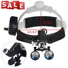 3.5X-R Dental LED Headlight Headband Binocular Medical Loupes Ultra-wide