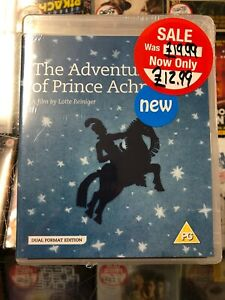 The Adventures of Prince Achmed Blu Ray DVD Brand New And Sealed BFI