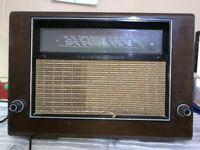 VINTAGE VÁLVULA RADIO TELEFUNKEN SUPER 975WK  PARA  RESTAURAR 1939