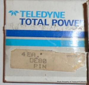NOS Wisconsin Teledyne Piston Wrist Pin DE80 set of 4 DE 80