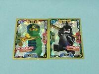 Lego Ninjago Serie 5 Trading Card  2 x Limitierte Auflage LE9 + LE19