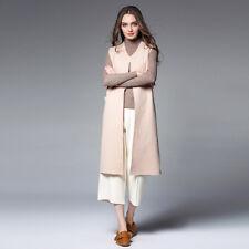 Plus size woman's vest jacket Double cashmere fashion casual coats top outwear