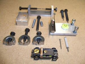 Ho slot car T-jet master tooling set