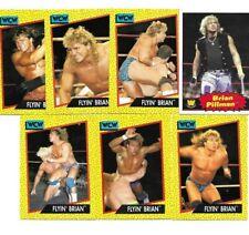 TOPPS WCW WWE FROM CINCINNATI OHIO 7 FLYIN BRIAN PILLMAN WRESTLING CARDS