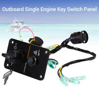 12V Single Key Vertical Control Switch Panel Accessory For Yamaha Outboard Boat