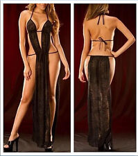 temptation of super sexy women long dresses sexy backless dress skirt S-M 3A-48